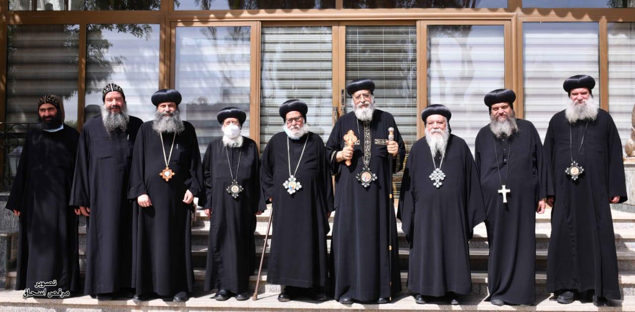 تهنئة عدد من أحبار الكنيسة لقداسة البابا بالعيد